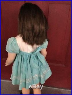 MADAME ALEXANDER 30 BETTY RARE FLIRTY EYES Doll BRUNETTE ORIGINAL DRESS TAGGED