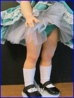 MADAME ALEXANDER 30 INCH BETTY PLAYPAL DOLL RESTORED (with flaw)