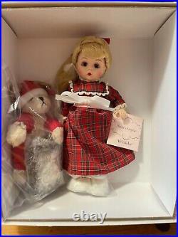 MADAME ALEXANDER #51505 Santas Surprise 8 Doll, Rare Hard To Find