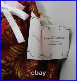 MADAME ALEXANDER COLONIAL CHRISTMAS 8 Doll #60755 Excellent Condition