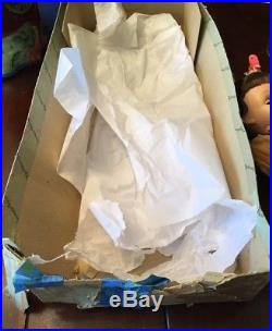 MADAME ALEXANDER VINTAGE HARD PLASTIC CISSY FACE STORY PRINCESS DOLL Tags, Extra