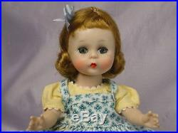 MADAME ALEXANDER-kins SLW Blonde 1955 DOLL Tagged Outfit