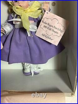 MADCC LE Madame Alexander Premiere MAYFAIR MOPPETS Peter & Peggy 2009 Mint RARE