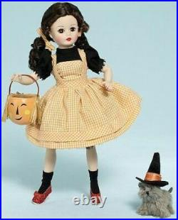Madame Alexander 10'' Halloween Dorothy and Toto #60705 Coquette Doll Retired