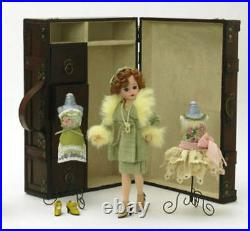 Madame Alexander 1920's Cissette 10 Doll Trunk Set Limited Edition 500 PC new
