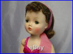 Madame Alexander 1950's Brunette CISSY Doll 20 STUNNING