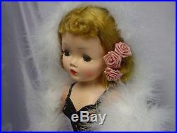 Madame Alexander 1950's Golden Blonde CISSY Doll 20 GORGEOUS