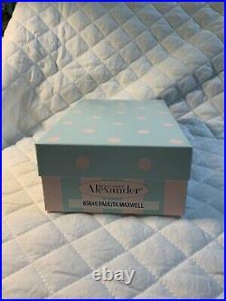 Madame Alexander 2012 MADC Albuquerque Convention Paulita Maxwell #65645 COA