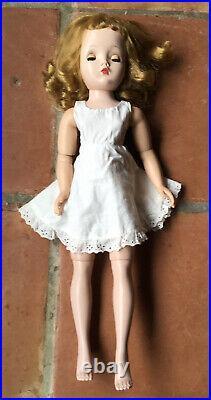 Madame Alexander 20 Cissy Doll Red/White HTF Organdy Polka Dots 1956 Dress