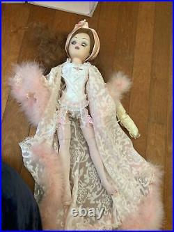 Madame Alexander 21 Cissy's Secret Armoire Set W Trunk, Doll, Lingerie & Access
