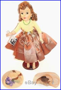 Madame Alexander 21 Shari Lewis Doll 1959 1 Year Issue RARE Tagged Outfit