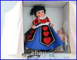 Madame Alexander 38410 Alice in Wonderland Queen of Hearts 2004 NIB