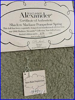 Madame Alexander 45630 Shadow Madame Pompadour Spring Cissette LE 350