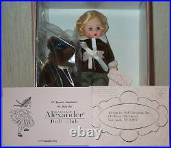 Madame Alexander 8 Amelia Earhart Doll with Chaos The Bear 40415 New NRFB RARE