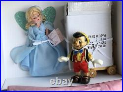 Madame Alexander 8 Blue Fairy and Pinocchio Doll Set 31760 with COA NRFB