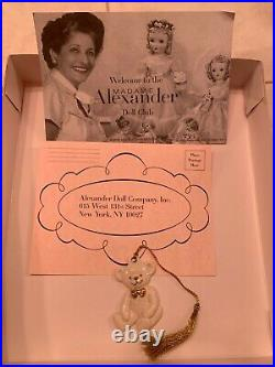 Madame Alexander 8 Doll 2004 Christmas Bear #38535 with box