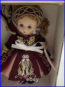 Madame Alexander 8 Doll Festive Irish Dancer 46270 Original Box Tag