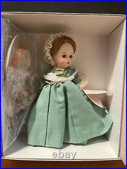 Madame Alexander Abigail The Fall Season Col Williamsburg Doll LE 1500 COA