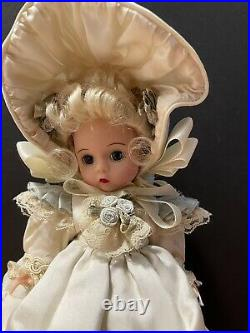 Madame Alexander Adorable Silk Victorian #26875 Rare Hard To Find 8 Doll