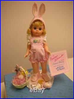 Madame Alexander Child At Heart Easter Bunny Le With Pin And Ann Rast Stand