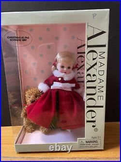 Madame Alexander Christmas at FAO SCHWARZ 2007 Rare Hard To Find Limited Edition