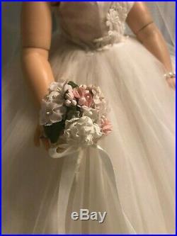 Madame Alexander Cissy 1958 Bridal Wreath Gown No Doll