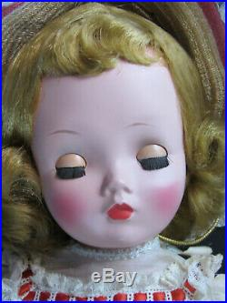 Madame Alexander Cissy Doll in Summer Gown 1955 A/O 1955 Excellent