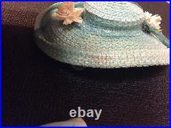 Madame Alexander Cissy Original Blue Camellia Dress And Hat