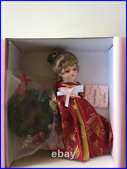 Madame Alexander Colonial Christmas Doll, 60755, New In Box