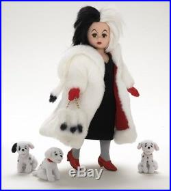 Madame Alexander Doll 38370 Cruella Deville 10 Retired Disney Collection NIB