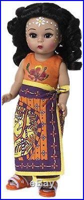 Madame Alexander Doll 68235 Madagascar Wendy 8 NIB