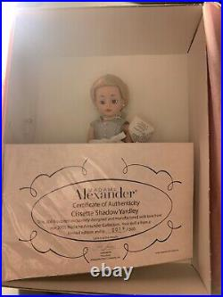 Madame Alexander Doll Cissette Shadow Yardley #36605 On Stand