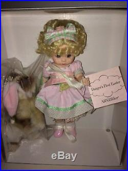 Madame Alexander Doll Danger's First Easter 45430 NIB 8 Doll 2006 Rare Retired
