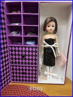 Madame Alexander Doll-Little Black Dress Cissette Trunk Set