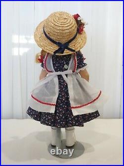 Madame Alexander Doll McGuffey Ana, Composition 14 Vintage, handmade clothing