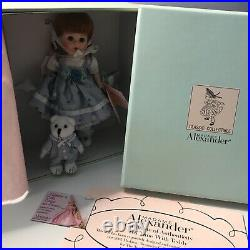 Madame Alexander Doll Tea Time with Teddy 8 #41420 New In Box Rare