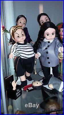 Madame Alexander Dolls Adams Family Dolls Fao Gomez Morticia Wednesday Pugsley