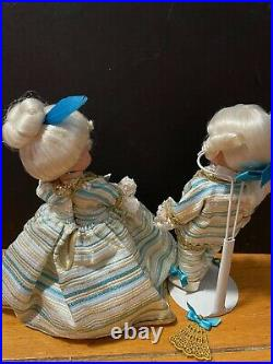 Madame Alexander Dolls, George And Martha Washington
