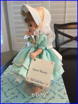 Madame Alexander Easter Bunny 1999 8 Doll, In Original Box. Adorable Rare
