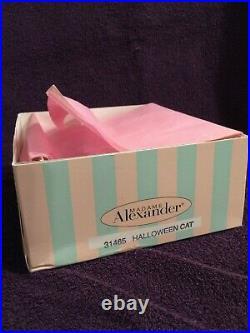 Madame Alexander Halloween Cat 31465 Lillian Vernon 8 Doll New NRFB RARE