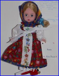 Madame Alexander International Series Russia 8 Doll 24150 Nmib