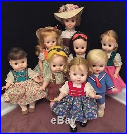 Madame Alexander Large Size Sound of Music 8 Doll Set