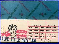 Madame Alexander Little Women Set Nos. 411-416 (7 inch)