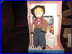 Madame Alexander MADCC 1987 Cowboy 8 Doll