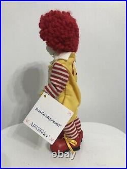 Madame Alexander Ronald McDonald Doll 2000 8 Sleepy Eyes Mint Tags