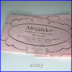 Madame Alexander Rosamund 8 #51045 Doll MADC Convention Souvenir 2009