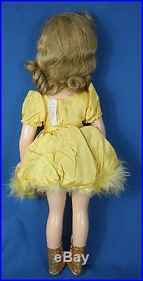 Madame Alexander Sonja Henie Doll 1939 18 Composition Ice Skater