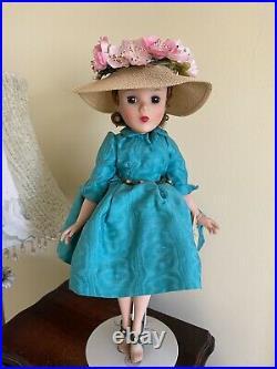 Madame Alexander Vintage 13 Shari Lewis Turquoise Shirtwaist