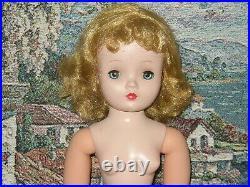 Madame Alexander Vintage Cissy 19 20 Tall Nude Doll Wonderful Girl
