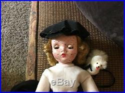 Madame Alexander Vintage Cissy Doll 1956 Cissy Walks Her Dog #2025